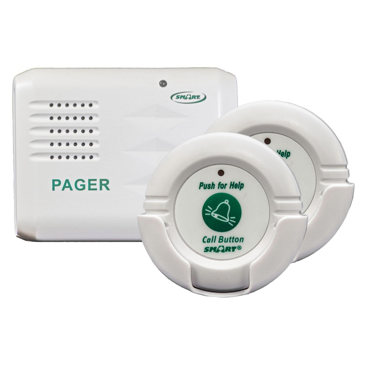 Smart Caregiver Two Call Buttons  Wireless Caregiver Pager